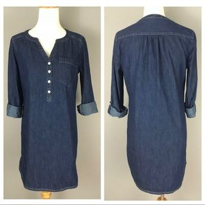 NEW Express Denim Shirt / Shift Dress